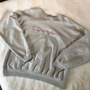 Vintage Red Outlined Champion XXL Sweatshirt